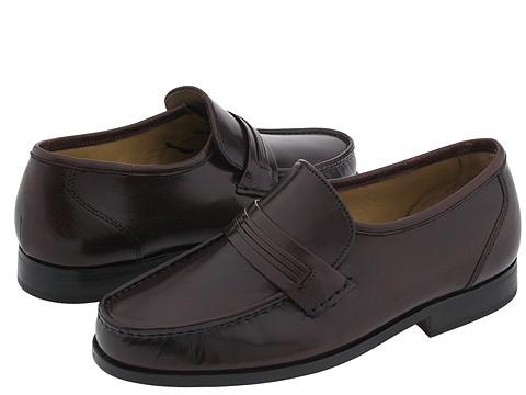 Pantofi Bostonian - Clinton - Burgundy Kidskin