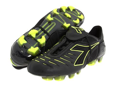 Adidasi Diadora Heritage - Maracana RTX 12 - Black/Yellow Flourescent