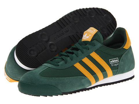 Adidasi Adidas Originals - Dragon - Dark Green/Craft Gold/White (Nylon)