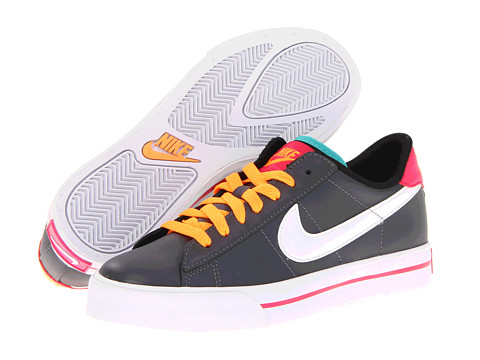 Adidasi Nike - Sweet Classic Leather - Dark Grey/Pink Force/Bright Citrus/White