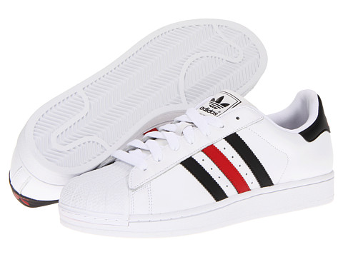 Adidasi Adidas Originals - Superstar 2 - White/Black/Light Scarlet