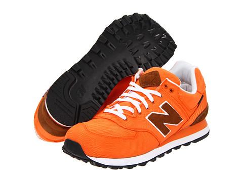 Adidasi New Balance - ML574 - Orange Textile