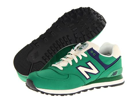Adidasi New Balance - ML574 - Green/Blue