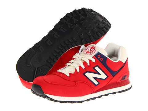 Adidasi New Balance - ML574 - Red/White
