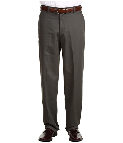 Pantaloni IZOD - Wrinkle Free American Chino Flat Front - Olive