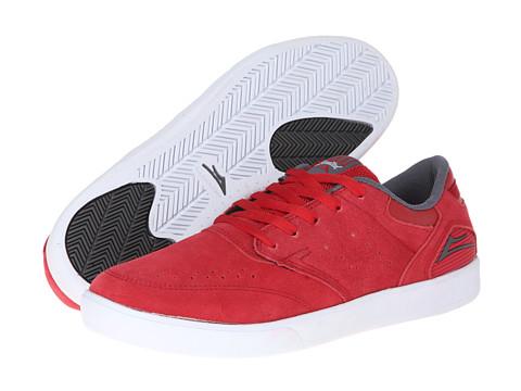 Adidasi Lakai - Guy - Red/Grey Suede