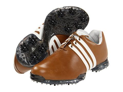 """Adidasi adidas Golf - adiPUREâ""""¢ - Hickory/Tour White/Scout Metallic"""