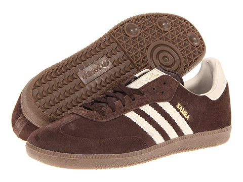 Adidasi Adidas Originals - Sambaî Suede - Mustang Brown/Bliss/Metallic Gold