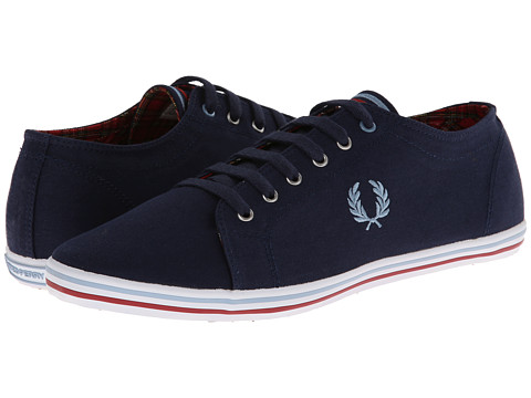 Adidasi Fred Perry - Kingston Twill Tipped - Carbon Blue