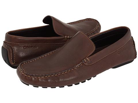 Pantofi Calvin Klein - Deauville - Medium Brown/Tan Leather
