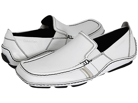Pantofi Calvin Klein - Mully - White Nappa