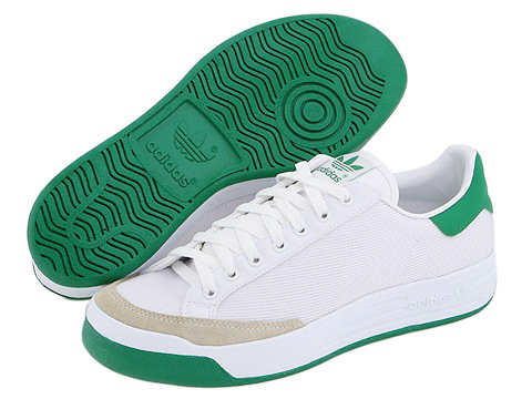 Adidasi Adidas Originals - Rod Laver - White/Green Nylon/Mesh