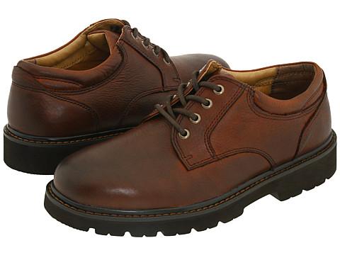 Pantofi Dockers - Shelter - Dark Tan Full Grain Leather