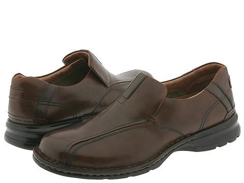Pantofi Clarks - Escalade - Brown Burnished Leather