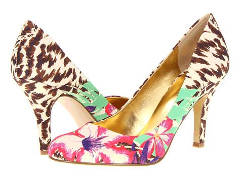 Pantofi Nine West - Ambitious - Brown Multi Fabric