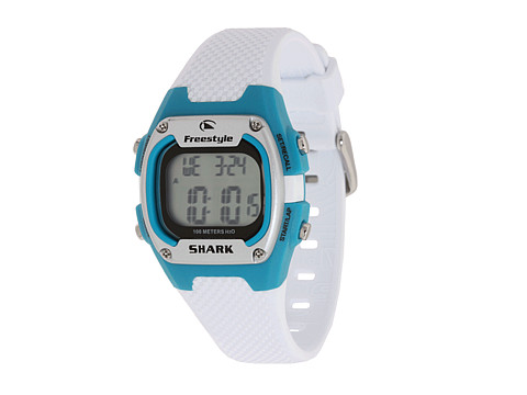 Ceasuri Shark Freestyle - Thresher Mid - White/Turquoise