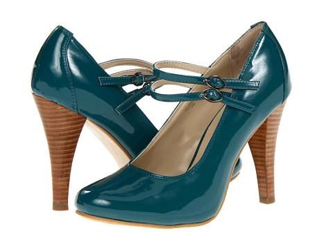 Pantofi Gabriella Rocha - Dancy - Teal Patent