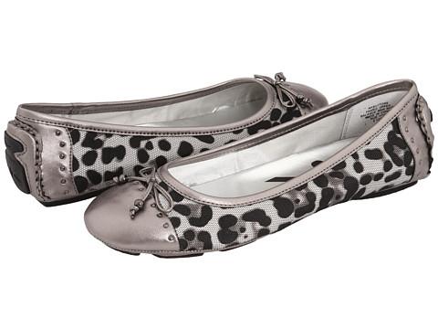 Balerini Anne Klein - Buttons - Leopard Mesh