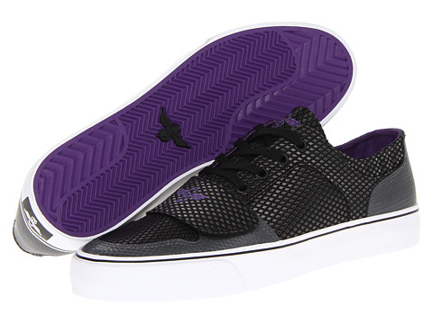 Adidasi Creative Recreation - Cesario Lo XVI - Black/Smoke/Purple