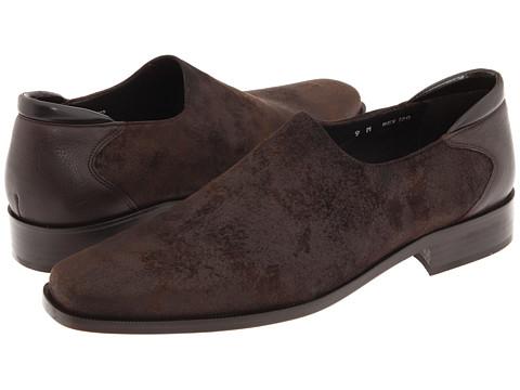 Pantofi Donald J Pliner - Rex - Expresso Distressed Suede Elastic