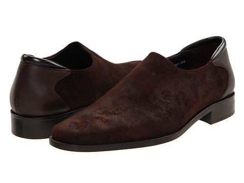 Pantofi Donald J Pliner - Rex - Expresso Distressed Suede/Expresso Calf