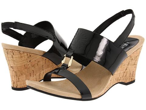 Sandale Anne Klein - Cypris - Black Patent