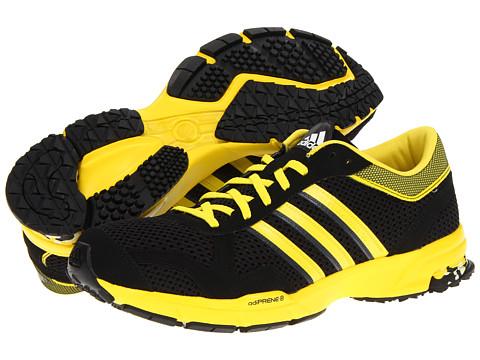 Adidasi Adidas Running - Marathon 10 M - Black/Vivid Yellow
