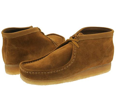 Ghete Clarks - Wallabee Boot - Chestnut Suede