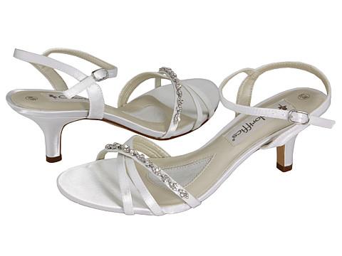 Sandale Coloriffics - Melissa - White Dyeable Satin