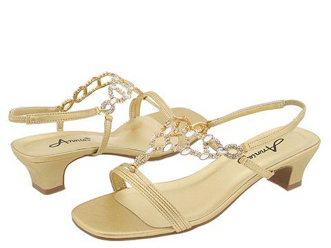 Pantofi Annie - Allison - Gold