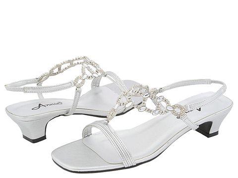 Pantofi Annie - Allison - Silver