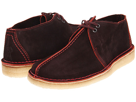 Ghete Clarks - Desert Trek - Brown/Red