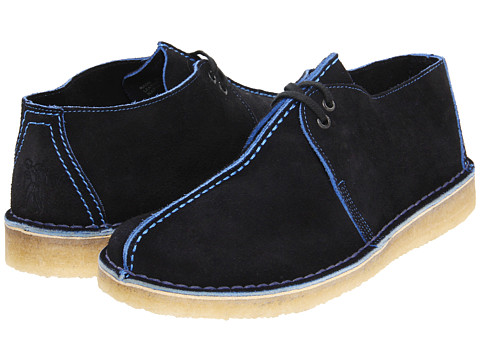 Ghete Clarks - Desert Trek - Navy/Blue