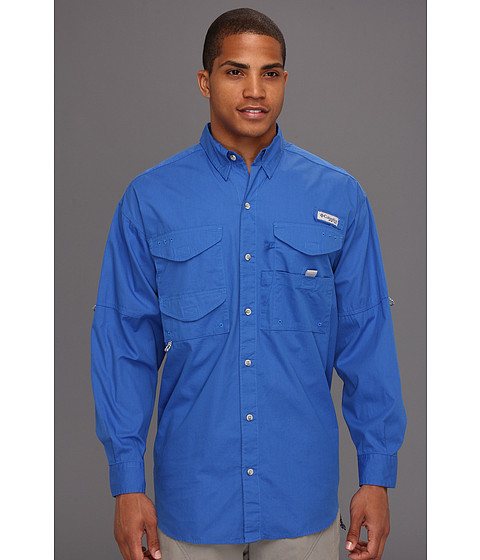 Bluze Columbia - Boneheadâ⢠L/S Shirt - Vivid Blue