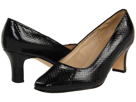 Pantofi Fitzwell - Vincent Pump - Black Snake Print