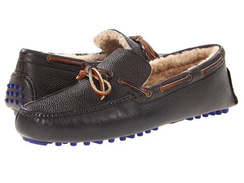 Pantofi Cole Haan - Air Grant - Dark Gull Gray Grain/Shearling