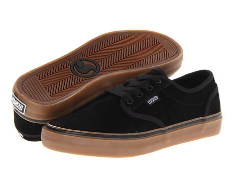 Adidasi DVS Shoe Company - Rico CT - Black/Gum Suede HOL 13