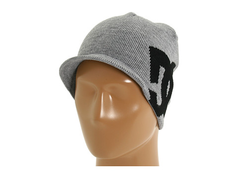 Sepci DC - Big Star Visor Beanie - Heather Grey/Black