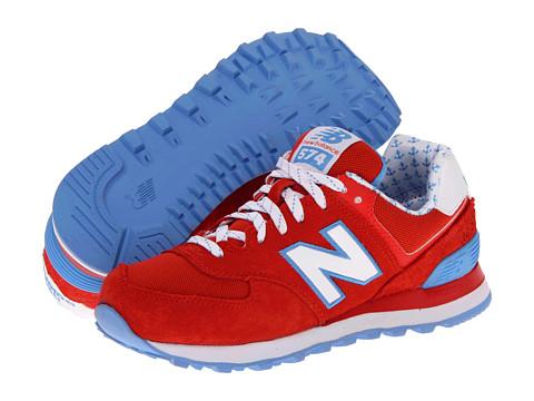 Adidasi New Balance - W574 - Yatcht Club Red