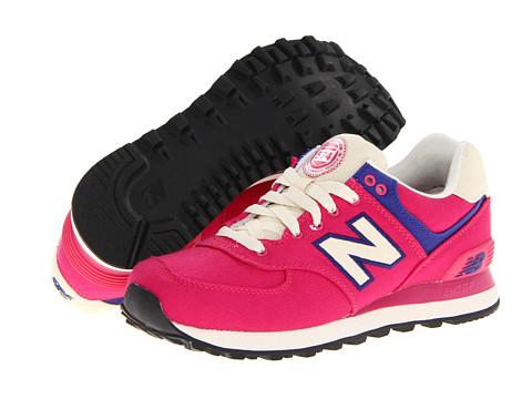 Adidasi New Balance - W574 - Pink/Purple