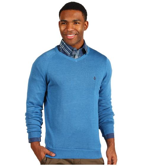 Pulovere Volcom - Standard Sweater - Airforce Blue Heather