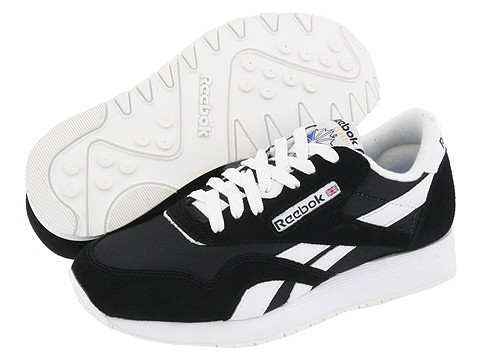 Adidasi Reebok - Classic Nylon - Black/White