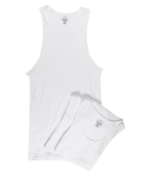 Tricouri Calvin Klein - Classic Tank 3-Pack - White