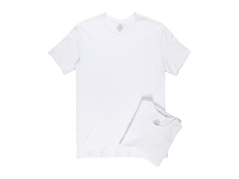 Tricouri Calvin Klein - Cotton Stretch Crew Two-Pack U2668 - White