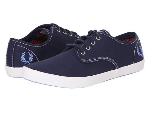 Adidasi Fred Perry - Foxx Twill - Carbon Blue/School Blue