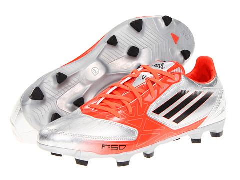 Adidasi adidas - F10 TRX FG - Metallic Silver/Infrared/Black