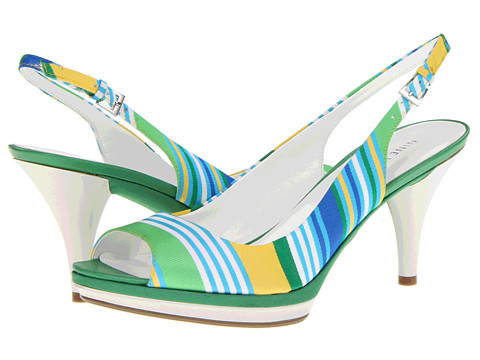 Sandale Nine West - Sharina - Green Multi Beach