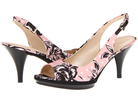 Pantofi Nine West - Sharina - Pink Rose Multi Fabric