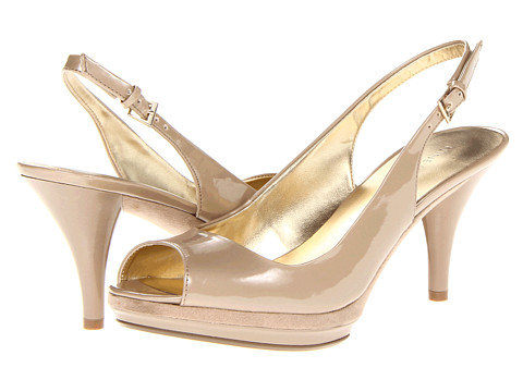 Pantofi Nine West - Sharina - Brown Synthetic 2