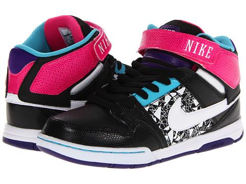 Adidasi Nike - Mogan Mid 2 - Black/Pink Foil/Electro Purple/White